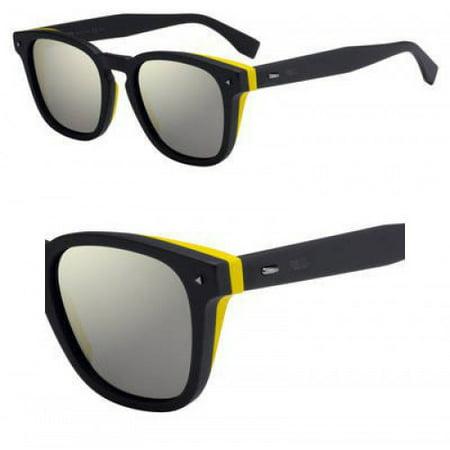 Sunglasses Fendi Men Ff M 18 /S 0KB7 Gray / UE gray ivory mirror lens