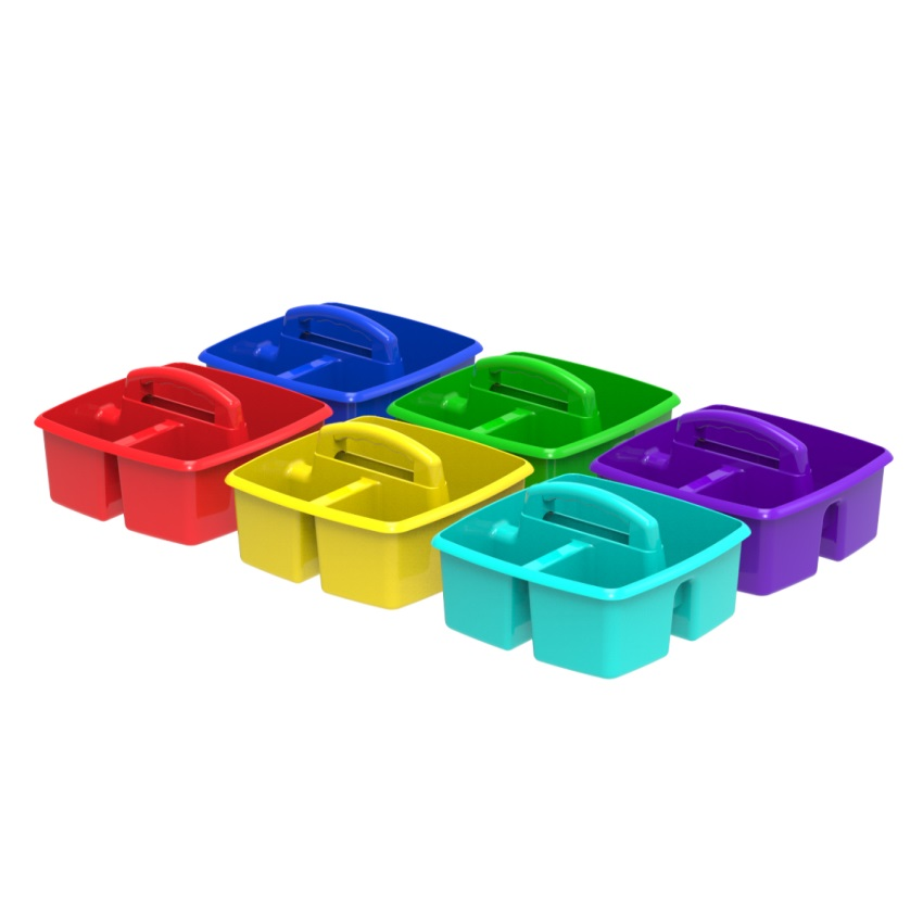 Classroom caddy, set of 5, (Case of 6 sets)