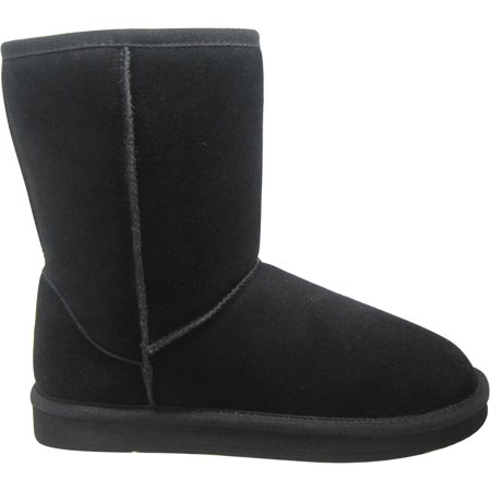 Faded Glory Women's Short Suede Boot