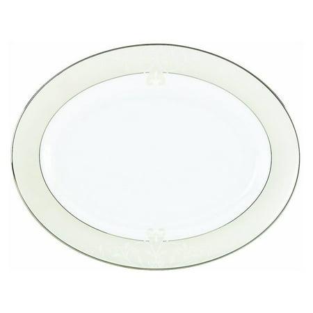 - Lenox Opal Innocence Scroll 16 in. Oval Platter