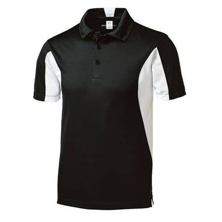 Gravity Threads Micropique Sport Athletic Polo - Maroon/White - Small - image 1 de 1