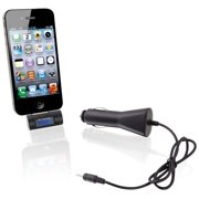 """""""iLive GPXIAF52BB iLive Wireless FM Transmitter with Digital Display and 12V DC Car Adapter for iPod iPhone iPad"""""""