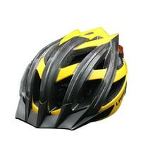 Livall BH100 Bling Biking Cycling Smart Helmet w Volume Control LED Turn Signals, (Yellow, Large)