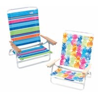 RIO BRANDS LLC SC590-TS Deluxe 5 Position Sand Chair