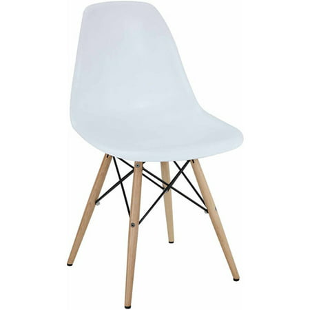 Clean Suede Chair - Modway Pyramid Indoor or Outdoor Dining Side Chair, Multiple Colors