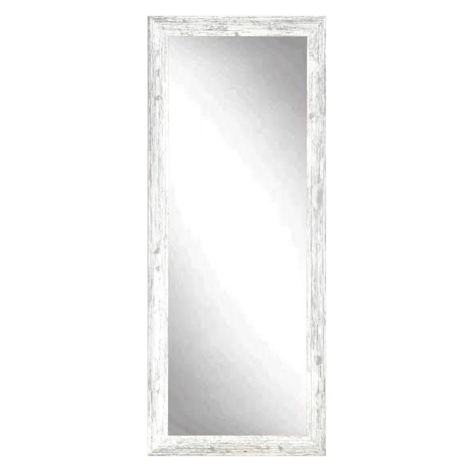 BrandtWorks American Barnwood Leaning Floor Mirror by