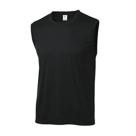 (Gravity Threads Mens Sleeveless Moisture Wicking Shirt)