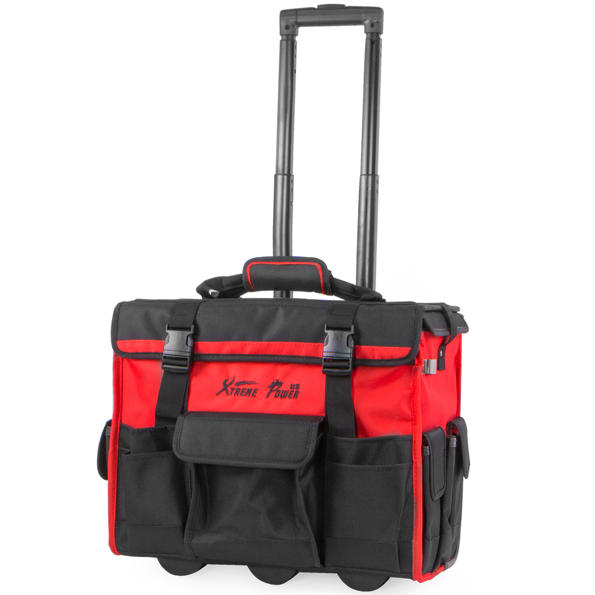 "18"" Portable Rolling Tool Bag Storage Organizer HD, with Wheels by LIVEDITOR LIGHTING"