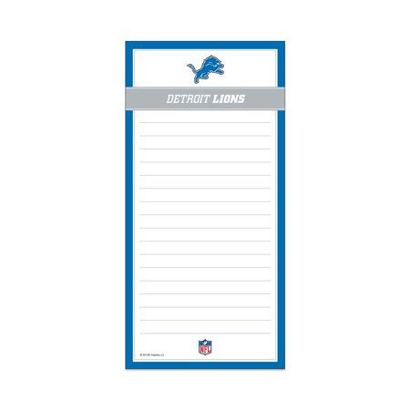 Magnetic List Pad Detroit Lions short description is not available