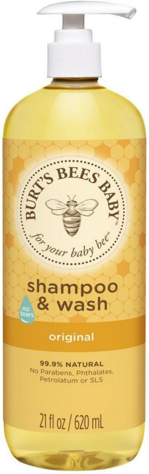 6 Pack Burt's Bees Baby Shampoo & Wash, Original 21 oz by