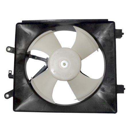 A/c Condenser Cooling Fan - AC A/C Condenser Cooling Fan Assembly Replacement for Honda Coupe Sedan 38611-PMM-A01