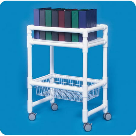 Notebook Chart Rack with Wire Basket (Notebook Chart Rack)