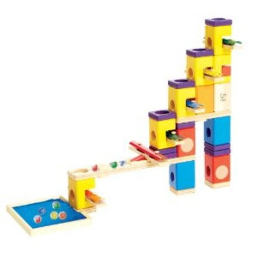 Hape - Quadrilla - Music Motion - Marble Railway in Wood Multi-Colored
