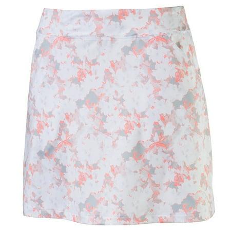 5932ea57b3dc Puma Golf- Ladies Floral Knit Skirt - Walmart.com