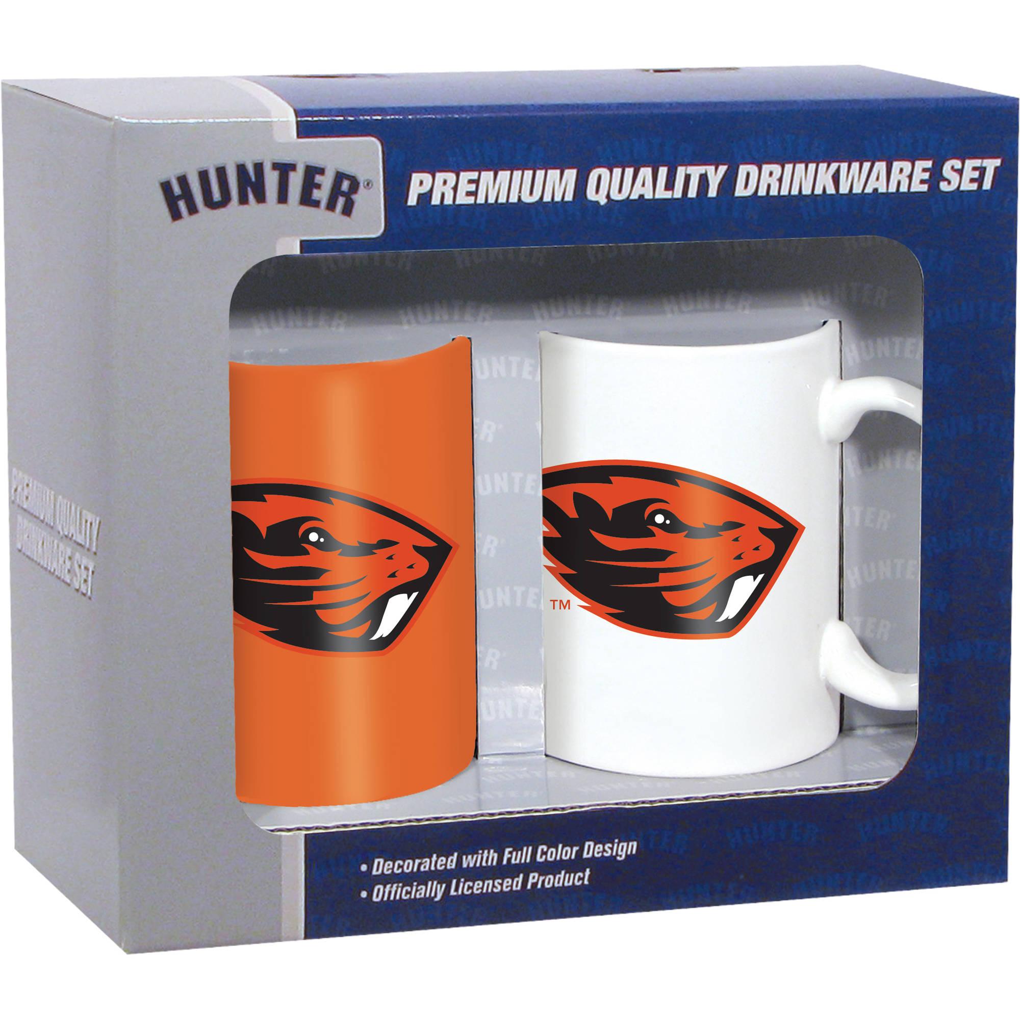 Hunter NCAA Oregon State Beavers 2-Pack Coffee Mug