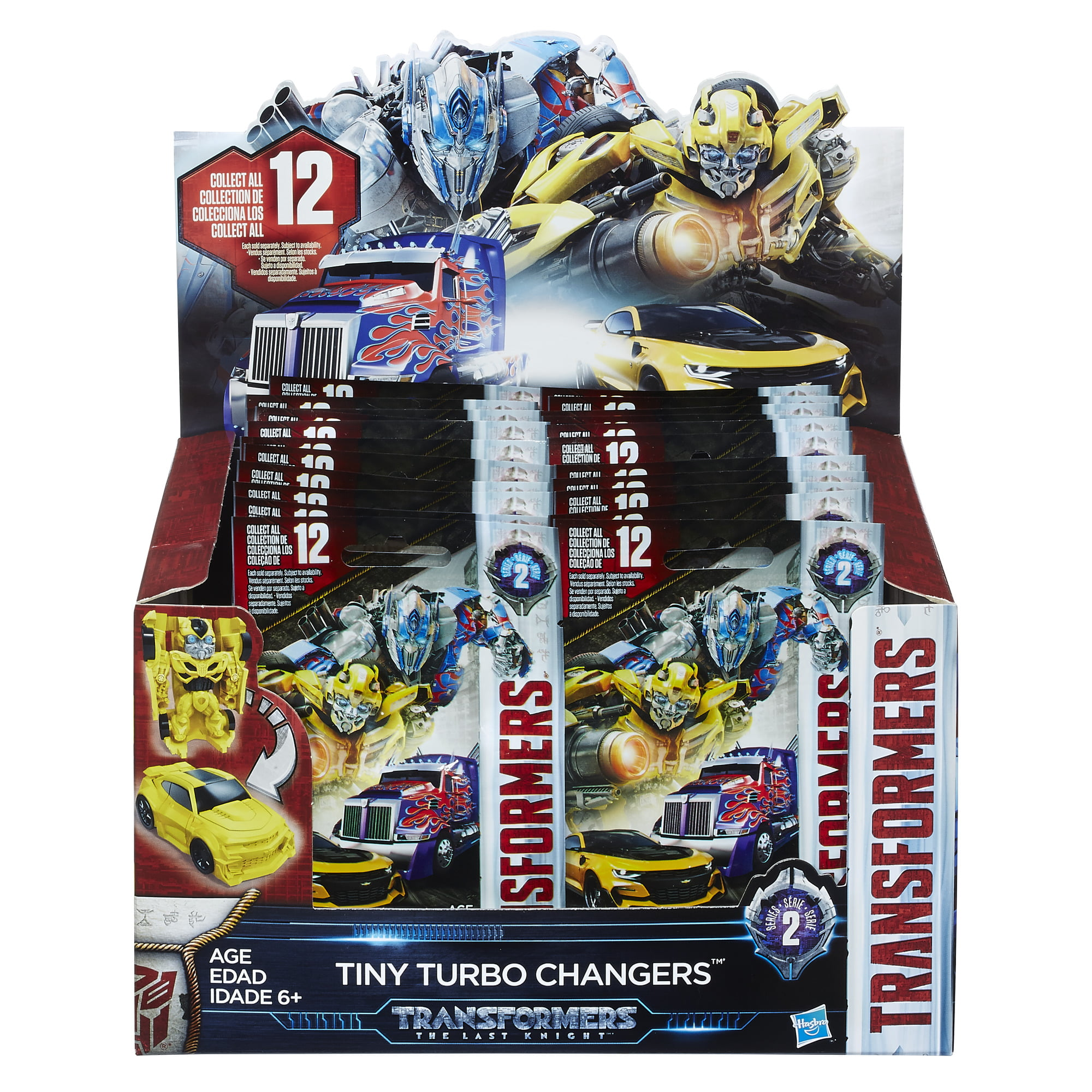 Transformers The Last Knight Tiny Turbo Changer Blind Bags Series 1 Choose Yours
