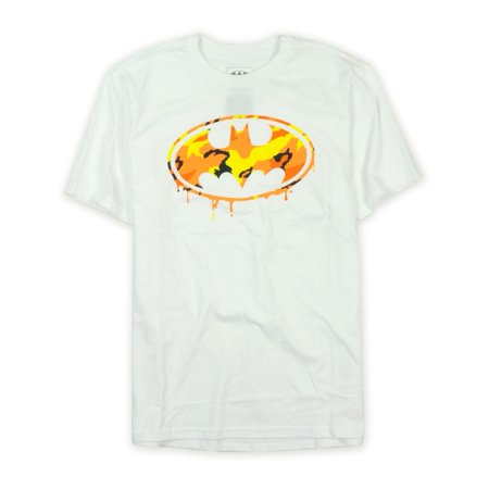 Ecko Unltd. Mens Multicolored Camo Batman Signal Graphic T-Shirt