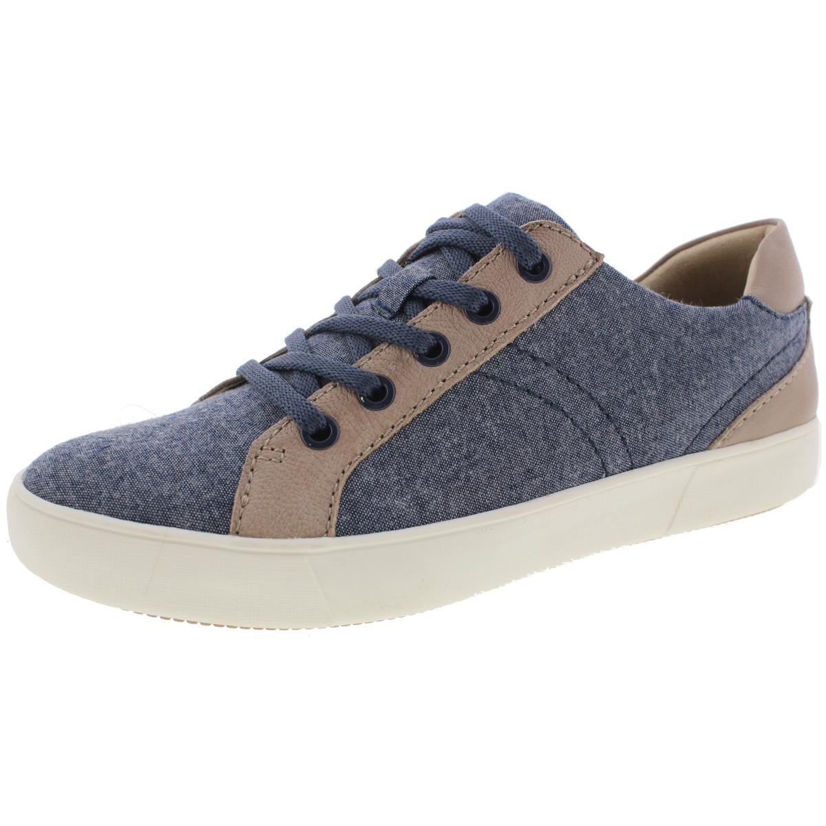 Naturalizer Womens Morrison  Canvas Leather Fashion Sneakers