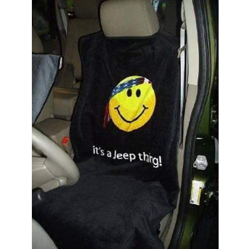 SeatArmour Jeep Grey Smiley Face Seat Armour