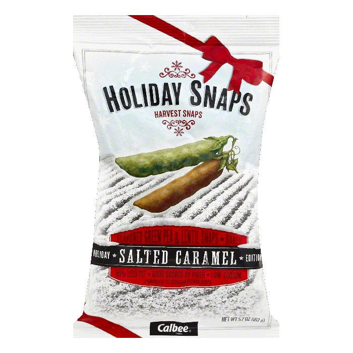 Harvest Snaps Salted Caramel Holiday Edition Snaps, 5.7 OZ (Pack of 36)