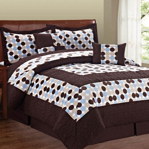 Serenta Big Dots 6 Piece Comforter Set