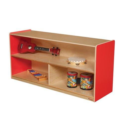 Wood Designs Versatile Single Shelving Unit