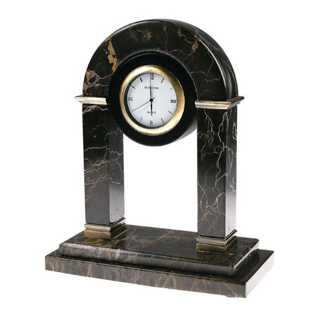 Bluestone Designs W905 Jadestone Desk Clock by Blue Stone Designs