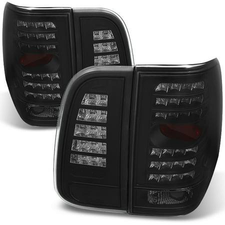 Fit 03-06 Lincoln Navigator Black Smoke LED Tail Lights Replacement 2011 Lincoln Navigator Light