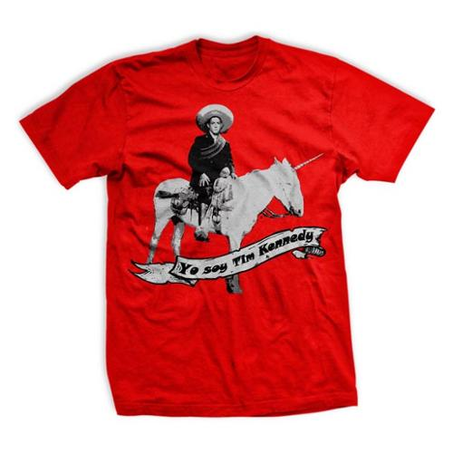 Ranger Up Tim Kennedy Victory Unicorn T-Shirt - Red
