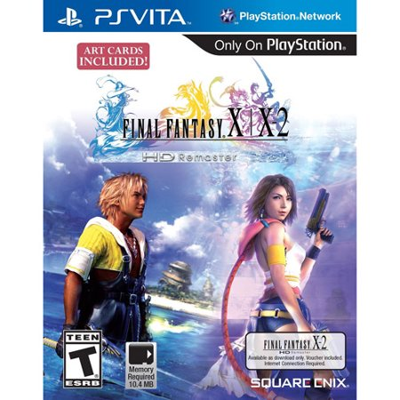 Square Enix  Psv   Final Fantasy X X 2 Remaster  Reple