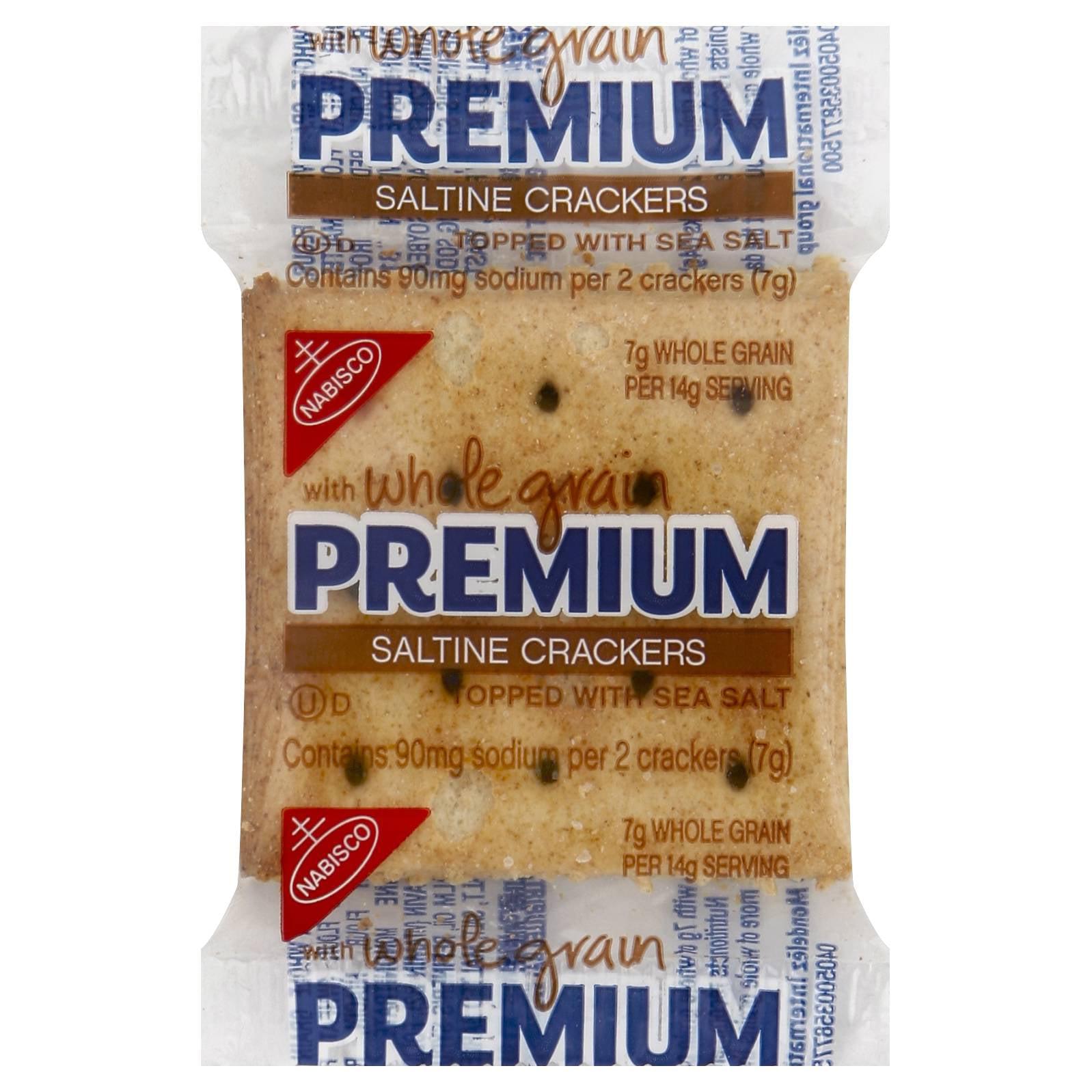 Premium Mondelez Foodservice Whole Grain Crackers Saltines 0.24oz (PACK OF 500)