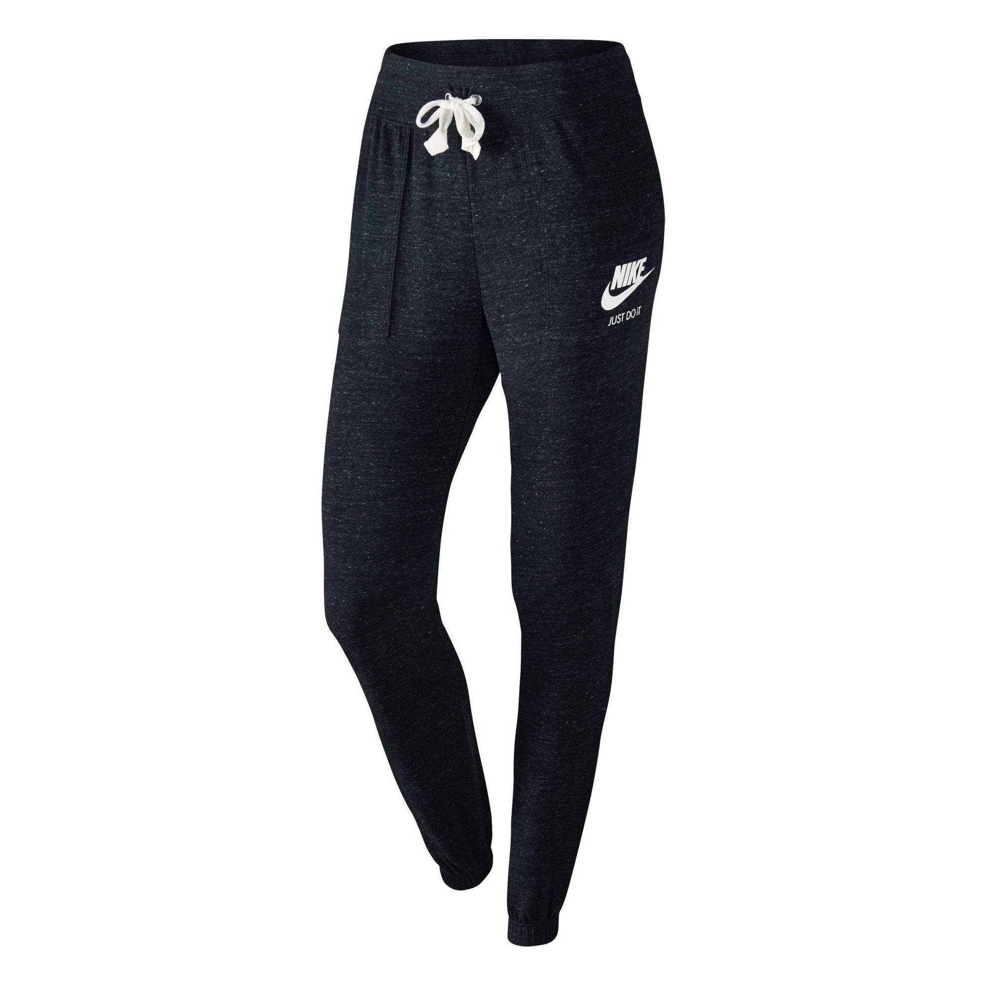 Nike NSW Gym Vintage Women's Pants Black/White/Sail 72606...