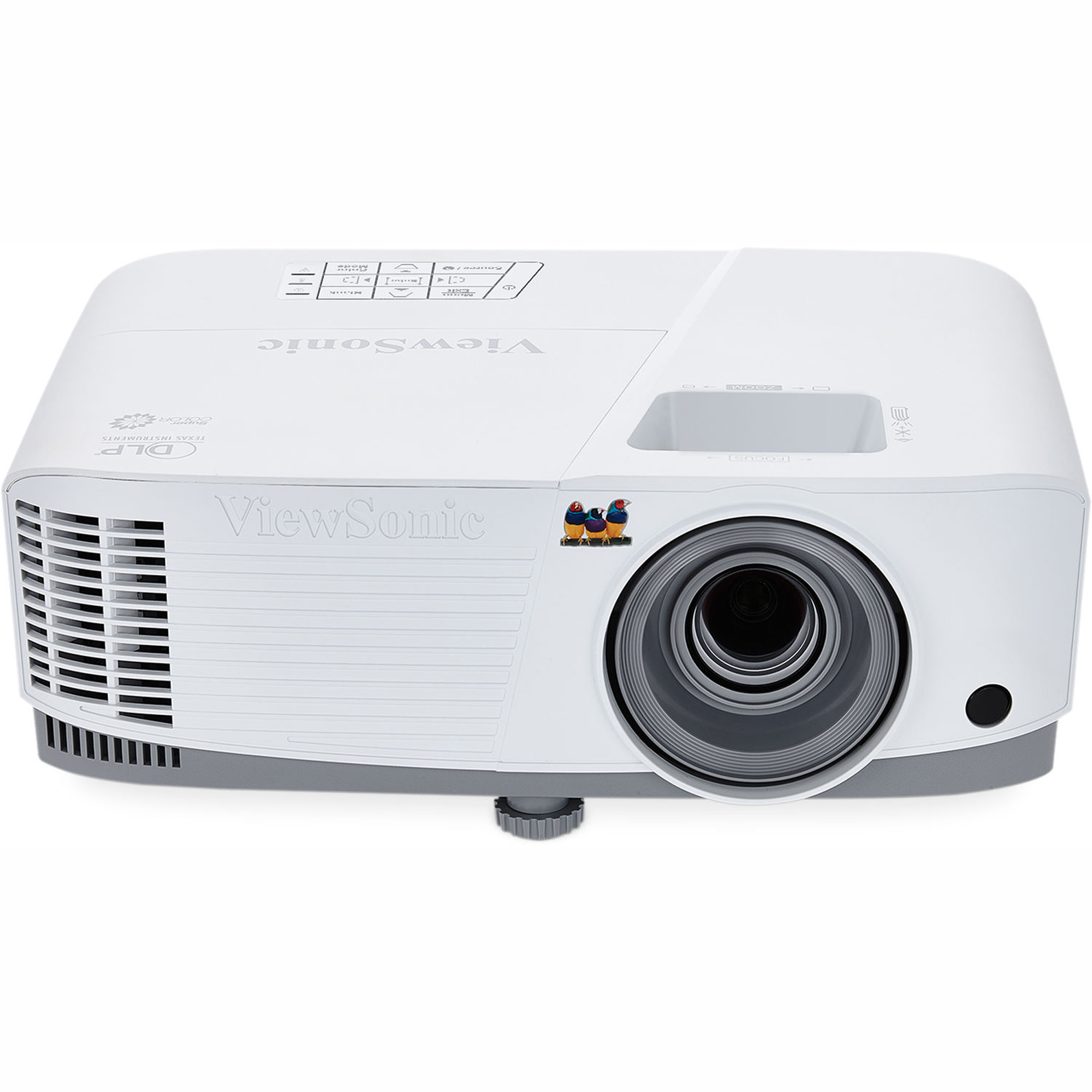 ViewSonic PG603X XGA DLP Projector, 1024x768, 3,600 lumens, Exclusive SuperColor technology, Network Capable, USB Reader and USB Display, WiFi and LAN Display, Dual 3D Blu-ray Ready HDMI Inputs