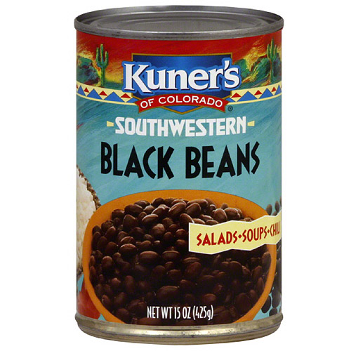 Kuner's Southwestern Black Beans, 15 oz (Pack of 12)