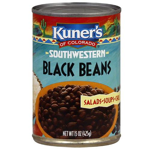 Kuner's Southwestern Black Beans, 15 oz (Pack of 12)