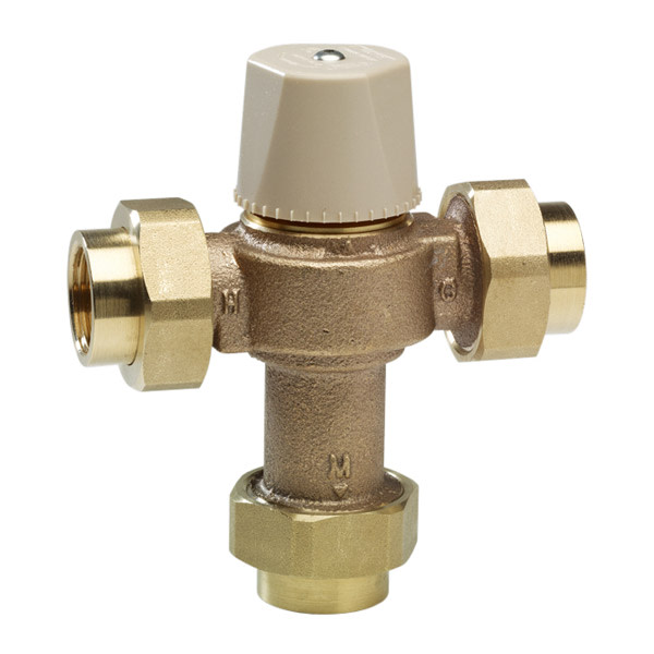 """Watts 559116 LFMMV-UT 1/2"""" Lead Free Thermostatic Mixing Valve with Threaded Connections"""