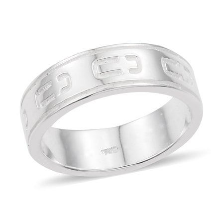 925 Sterling Silver Artisan Crafted Band Style Cross Ring for Women Jewelry Gift