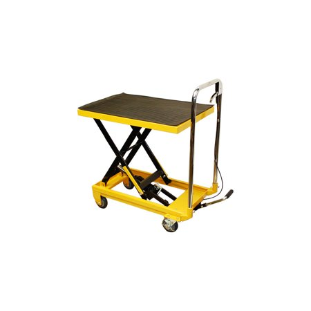 Heavy Duty Mobile 330LB Hydraulic Table Lift 9