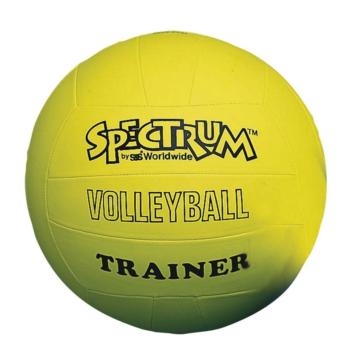 S&S Worldwide W6521 Spectrum Volleyball Trainer, Yellow - Regular Size, Our extra light ball is perfect for training young volleyball players By SS Worldwide