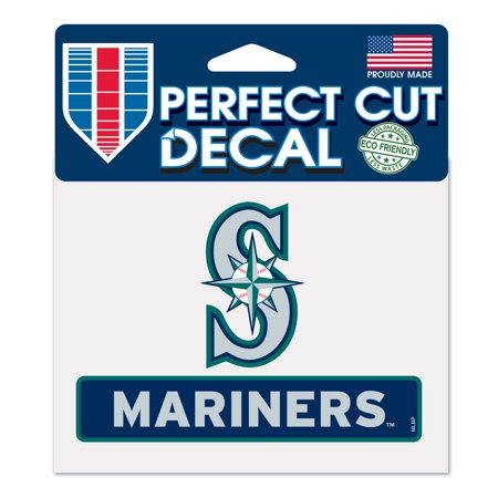 Seattle Mariners Die Cut Decal (Seattle Mariners Decal 4.5x5.75 Perfect Cut)