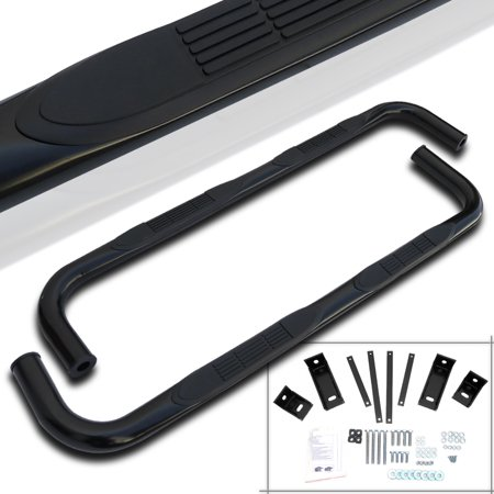 """Spec-D Tuning 1994-2001 Dodge Ram 1500 2500 3500 Quad Cab 3"""" Stainless Side Step Nerf Bar 94 95 96 97 98 99 00 01 (Left + Right)"""