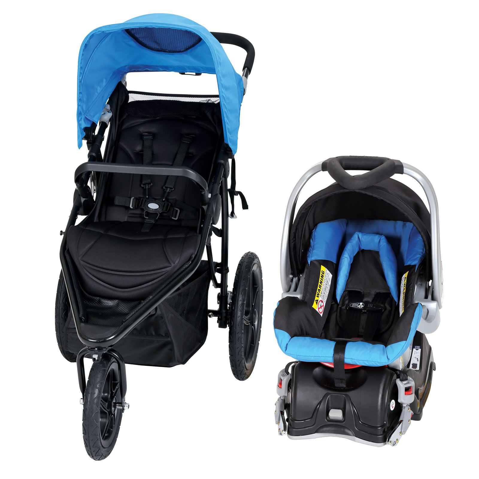 Baby Trend Stealth Jogger Travel System, Seaport