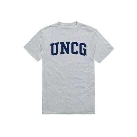 UNCG University of North Carolina at Greensboro Game Day T-Shirt Heather Grey ()