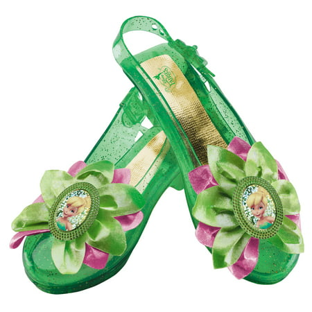 Disney Tinker Bell Sparkle Shoes Child Halloween Costume Accessory - Tinkerbell Accessories