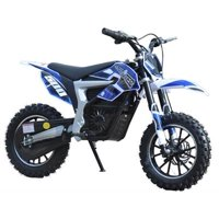 MotoTec 36v Kids Electric Dirt Bike 500w Lithium Blue