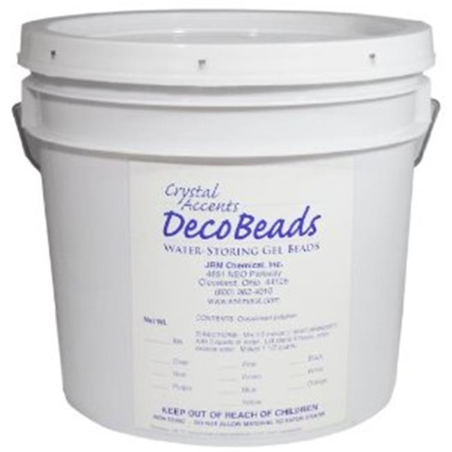 JRM Chemical DB-C05 Deco Beads 5 lb pail Clear