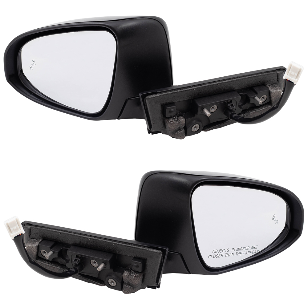 Brock Pair Set Power Folding Side View Mirrors For 2018 Toyota C Hr Heated Signal Blind Spot Detection Replacement Fits 87940 F4060 87910 F4060 87940f4060 87910f4060 Walmart Com Walmart Com