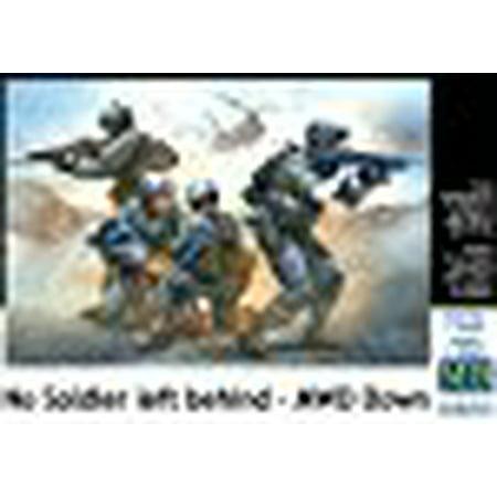 Masterbox 1:35 - No Soldier Left Behind - Mwd Down (1 35 Masterbox)
