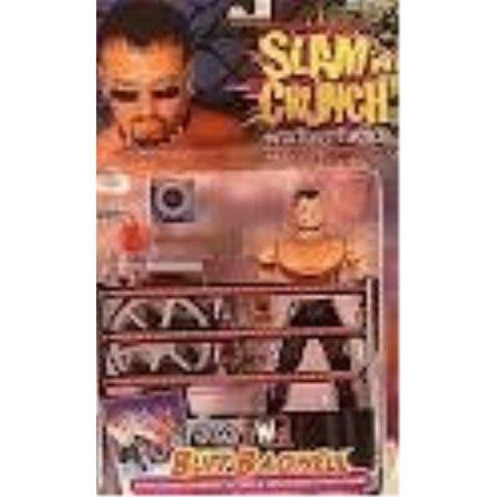 WCW Slam N Crunch Wrestlers Buff Bagwell distributed by Toy Biz 1999 - Wcw 1999 Halloween Havoc