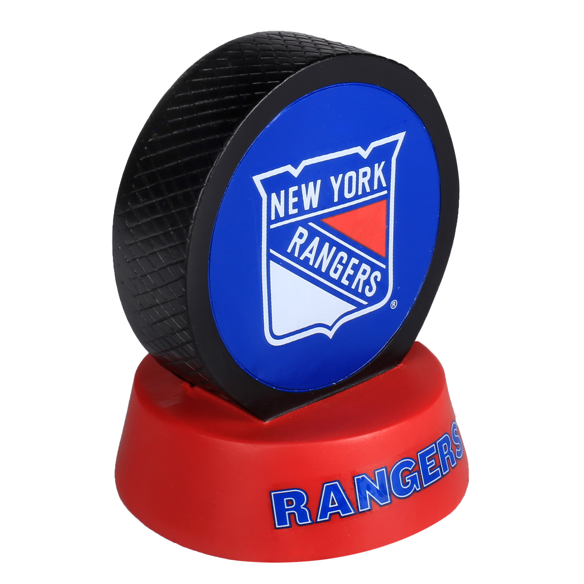 New York Rangers Hockey Puck Display Paperweight - No Size